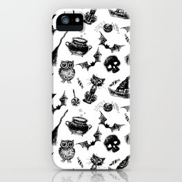 Halloween pattern design iPhone Case