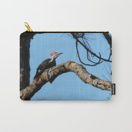 pileated woodpecker#4 Carry-All Pouch