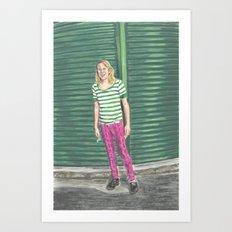 Ariel Pink: Hot Pink! Art Print