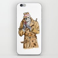 rorschach iPhone & iPod Skins featuring Rorschach by Of Newts and Nerds