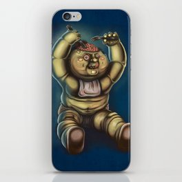 Tubby Zombie iPhone Skin
