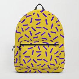 Shiny Yellow Memphis Backpack