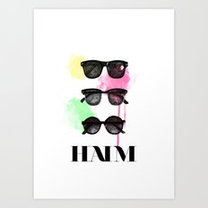 Haim (colour version) Art Print