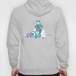 Arctic bear pajamas party Hoody