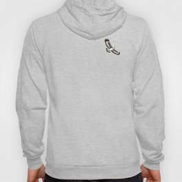 The Hawk's Flight_Bg Gray Hoody