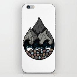 Pebble Mountain iPhone Skin