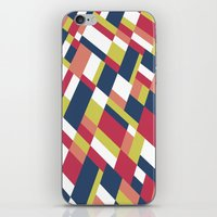 matisse iPhone & iPod Skins featuring Map Matisse Stretched by Project M
