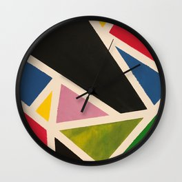 geo mic Wall Clock