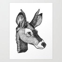 K - Animal Alphabet Art Print