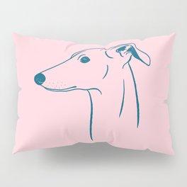 Italian Greyhound (Pink and Blue) Pillow Sham