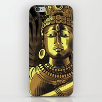 shiva iPhone & iPod Skins featuring Shiva by Aurapim Vorasopan