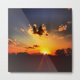God Sky Art, Loren Cook  Metal Print