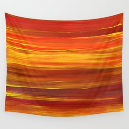 Sunset stratum Wall Tapestry