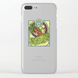 Art nouveau. Spices and vegetables Clear iPhone Case