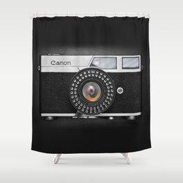 Classic Canon Shower Curtain