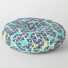 Tribal Triangles Floor Pillow