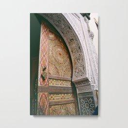 DOORS OF MOROCCO  Metal Print