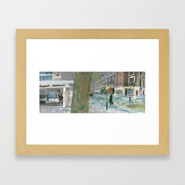 London #6. Connaught Street W2 2AY Framed Art Print