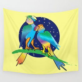 Talking To The Stars Wall Tapestry