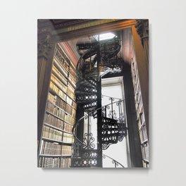 Bibliotheca Metal Print