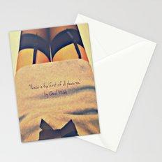 Illusion+Pleasure=? Stationery Cards