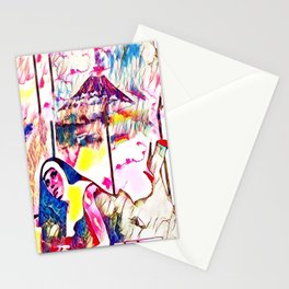 The Sin Eruption Stationery Cards