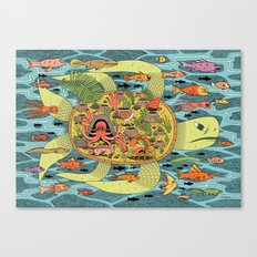 Giant Turtle Canvas Print