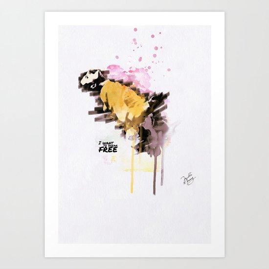 Mercury's live forever Art Print