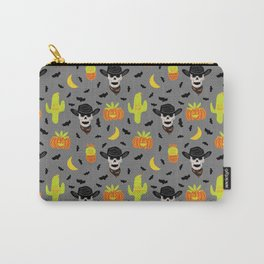 Desert Halloween in Gray Carry-All Pouch