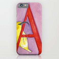 A for 'Akiapola'au iPhone 6s Slim Case
