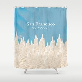 San Francisco TA Shower Curtain