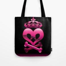 Emo heart Tote Bag