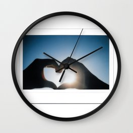 Polaroid Sun Love Wall Clock