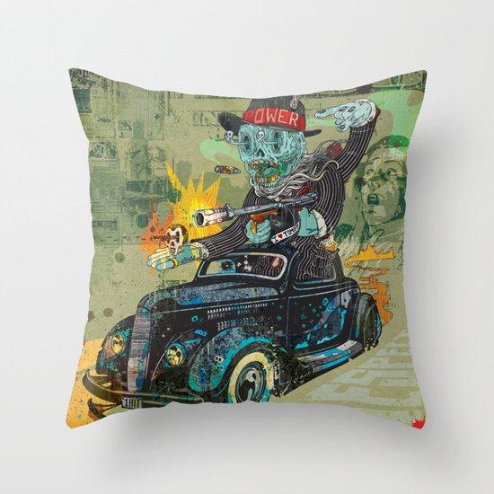 Bootleg Husker Throw Pillow