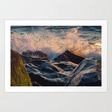 Seashore Lovin'  Art Print
