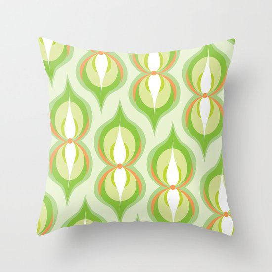 Modernco - Green Throw Pillow