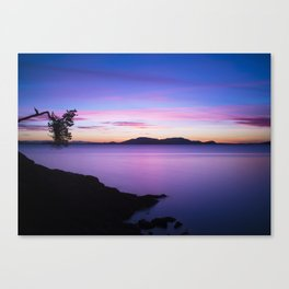 Vibrant Sunset Canvas Print