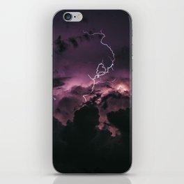 purple rain #society6 #decor #buyart iPhone Skin