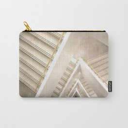 Geometric Stairs : Guggenheim Museum Carry-All Pouch