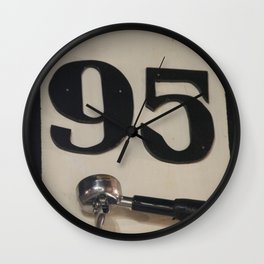 95 Coffee Wall Clock