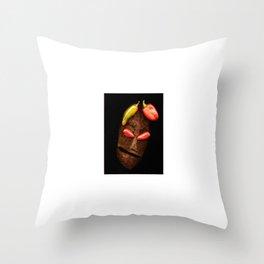Copperhead mask_057 Throw Pillow