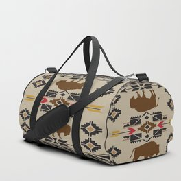 American Native Pattern No. 180 Duffle Bag