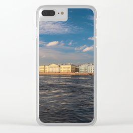 Art Chamber Saint Petersburg Clear iPhone Case