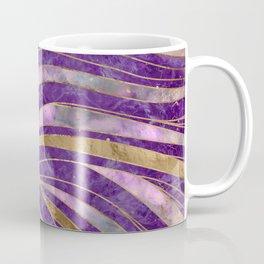 Amethyst and Fluorite Wavy Pattern Coffee Mug