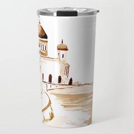 Two wisemen painting a brand new world Travel Mug