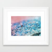 supreme Framed Art Prints featuring Slushie Supreme by Beth - Paper Angels Photography