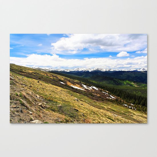 Slope Canvas Print