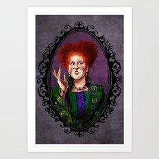 Halloween Heroines: Winifred Sanderson Art Print