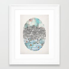 Opal Framed Art Print