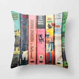Vintage Children's Classics Throw Pillow